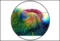 ESPN-3: High-resolution data reveals the interaction of magnetic fields with a vortex tube